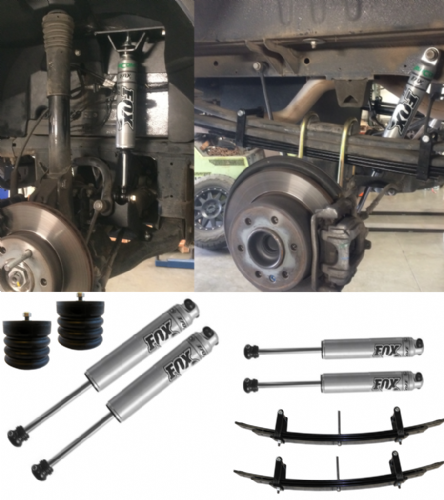 Stage 3 Van Compass Suspension Package Sprinter 4X4 (2007-2018) MWB, LWB, 3.5T